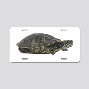 Red Ear Slider Photo Aluminum License Plate