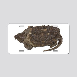 Snapping Turtle Aluminum License Plate