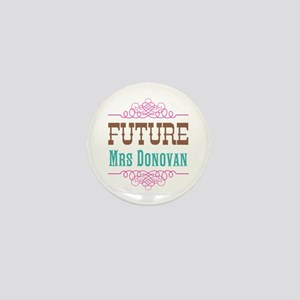 Pink Future Mrs Mini Button