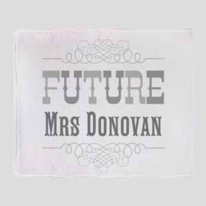 Personalized Future Mrs Throw Blanket