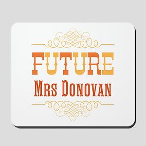 Orange Future Mrs Mousepad