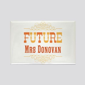 Orange Future Mrs Rectangle Magnet