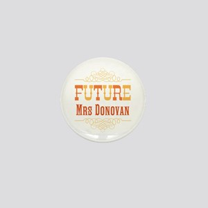 Orange Future Mrs Mini Button