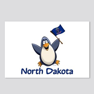 North Dakota Penguin Postcards (Package of 8)