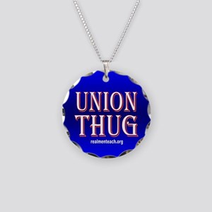 UNION THUG Necklace Circle Charm