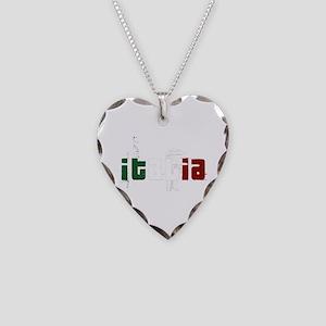Italia Necklace Heart Charm