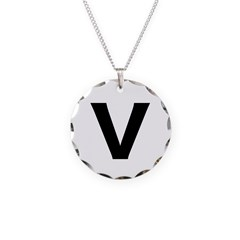 Circle V Necklace