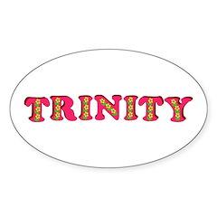 Trinity Sticker (Oval 10 pk)