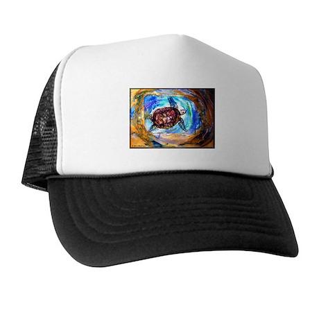 Sea Turtle, colorful, Trucker Hat