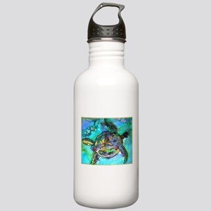 Sea Turtle, bright, Stainless Water Bottle 1.0L