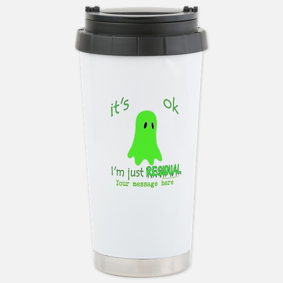 Customizable Just Residual Ghost Stainless Steel T