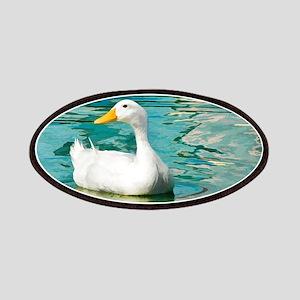 White Pekin Duck Photo Patches