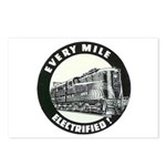 PRR EVERY MILE ELECTRIFED Postcards (Package of 8)