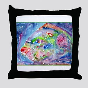 Fish, Colorful, Throw Pillow