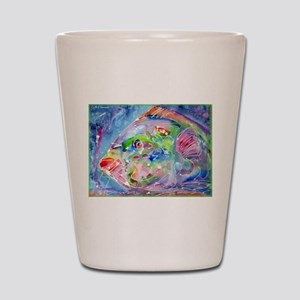 Fish, Colorful, Shot Glass