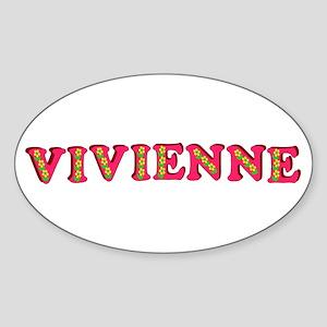 Vivienne Sticker (Oval)
