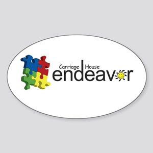 Endeavor Logo Products Sticker (Oval)