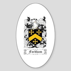 Fordham Sticker (Oval)