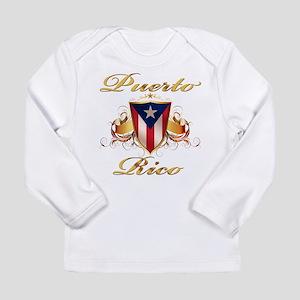 Puerto rican pride Long Sleeve Infant T-Shirt