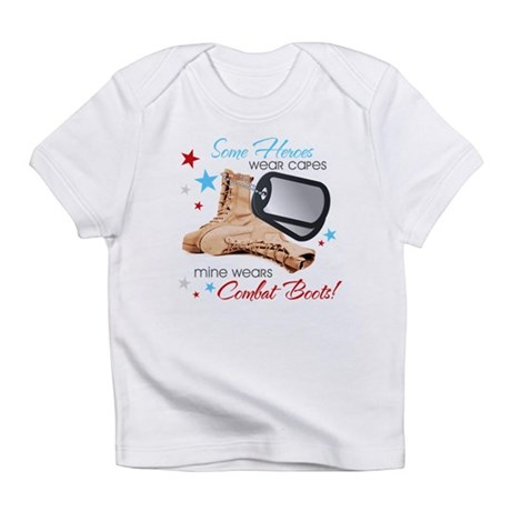 Some Heroes Wear Capes Infant T-Shirt
