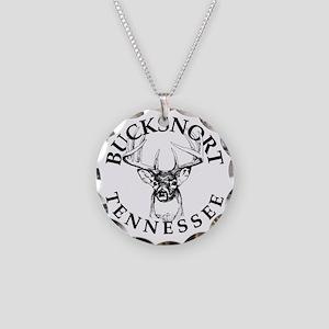 Bucksnort, TN - Necklace Circle Charm