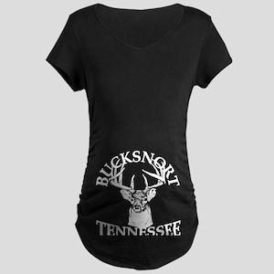 Bucksnort, TN - Maternity Dark T-Shirt