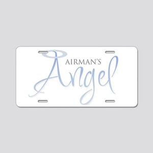 Airman's Angel Aluminum License Plate