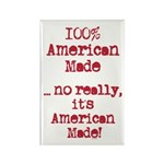 100% American Made Rectangle Magnet