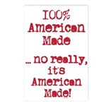 100% American Made Postcards (Package of 8)