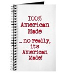 100% American Made Journal