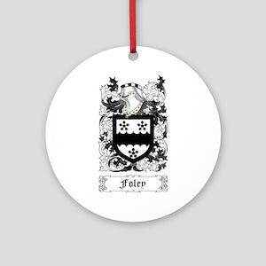 Foley Ornament (Round)