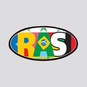 Brazilian World cup soccer Patches