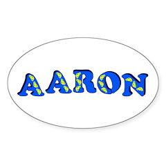 Aaron Sticker (Oval)