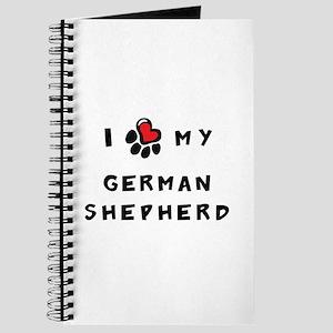 I *heart* My German Shepherd Journal