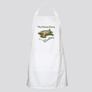 Golden Sleeping Beauty Apron