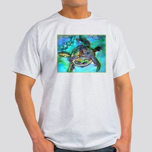 Sea Turtle, bright, Light T-Shirt
