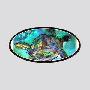 Sea Turtle, bright, Patches