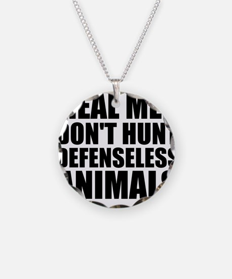 Cute Anti hunting Necklace