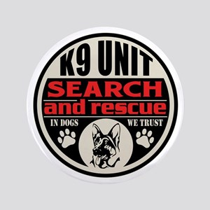 K9 Unit Search and Rescue Button