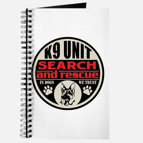 K9 Unit Search and Rescue Journal