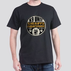 K9 In Dogs We Trust Sheriffs Departme Dark T-Shirt