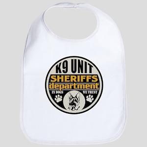 K9 In Dogs We Trust Sheriffs Department Bib