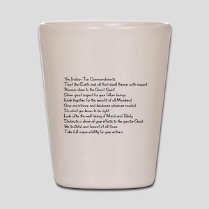10 Commandments Shot Glass