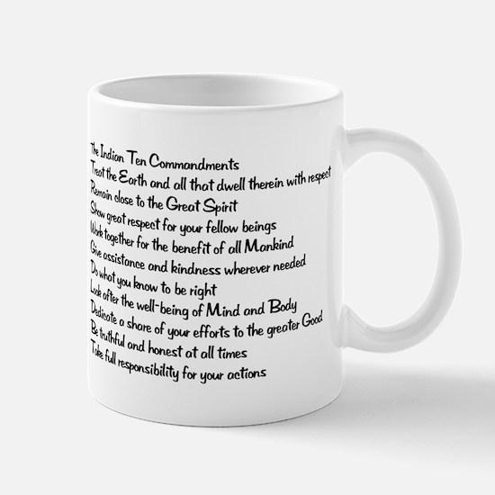 10 Commandments Mug