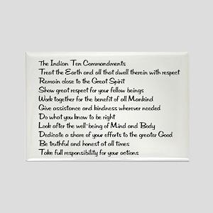 10 Commandments Rectangle Magnet