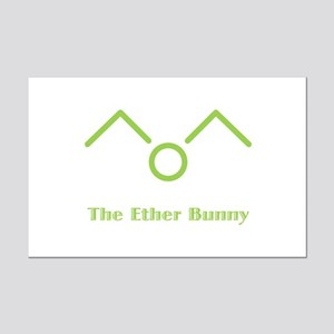 The Ether Bunny Mini Poster Print