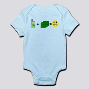 Happy Caching Infant Bodysuit