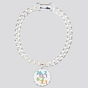 runner distances Charm Bracelet, One Charm