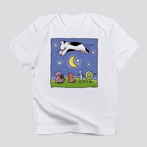 cow jumping over the moon Infant T-Shirt