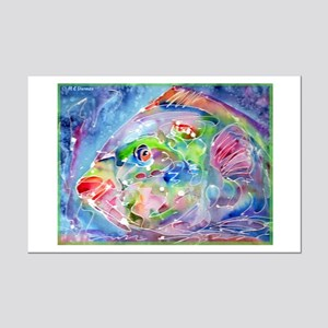 Fish, Colorful, Mini Poster Print